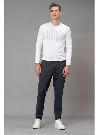 Lufian Tişört Beyaz